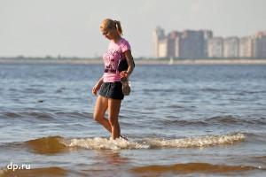 В Петербурге исчезают песчаные пляжи