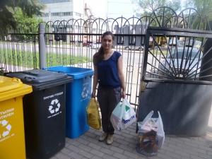 В Уфе участники акции «Субботка-переработка» собрали 250 кг макулатуры