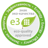 Знак экологического отличия и качества для строительных и отделочных материалов e3
