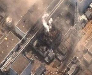 Реальные повреждения зданий реакторов на АЭС Фукусима-1 после взрывов