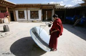Экологические чистые источники энергии стимулируют изменения в образе жизни китайской деревни